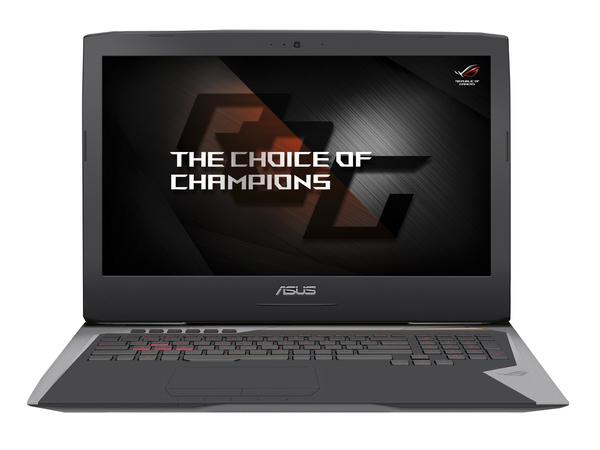 ASUS ROG G752VY-GC134T - Core i7 6700HQ / 2.6 GHz - Win 10 Home 64-Bit - 16 GB RAM - 256 GB SSD NVMe + 2 TB HDD - DVD-Writer/Blu-ray
