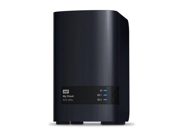 WD My Cloud EX2 Ultra WDBVBZ0040JCH - Gerät für persönlichen Cloudspeicher - 2 Schächte - 4 TB - HDD 2 TB x 2 - RAID 0, 1, JBOD