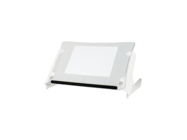 R-Go Tools Clear Slope Ständer Dokumentenhalterung, Weiß