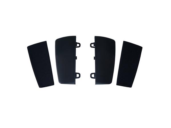 R-Go Tools Kinesis Freestyle2 Palm Support Zubehör, Schwarz, 100 x 391 x 13 mm, Kunststoff, Vinyl