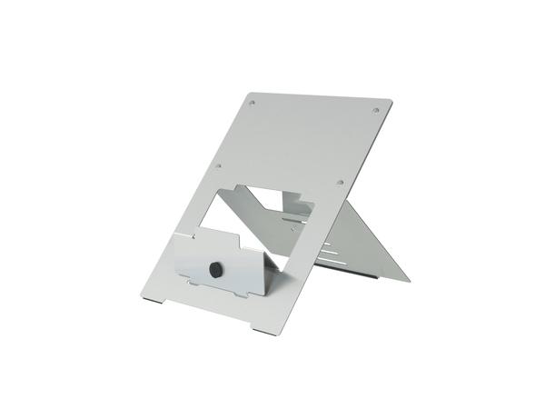 R-Go Tools Riser Laptopständer silber, 135 - 220 mm, 30 - 57°, Aluminium, Silber