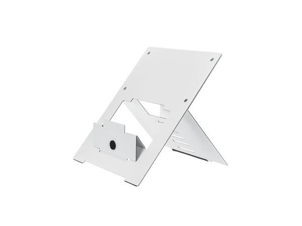 R-Go Tools Riser Laptopständer weiß, 135 - 220 mm, 30 - 57°, Aluminium, Weiß