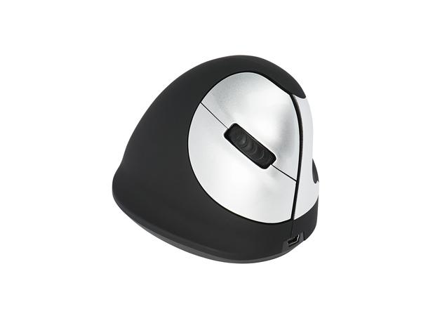 Human Ergonomics HE Mouse - Maus - 5 Tasten - drahtlos - 2.4 GHz - kabelloser Empfänger (USB)