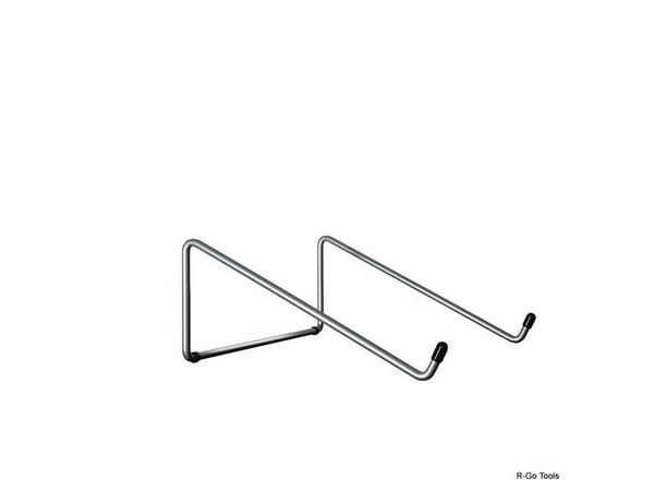 R-Go Tools Laptopständer BASIC, 0 - 110 mm, Metall, Silber