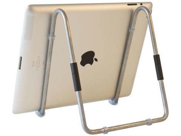 R-Go Tools Easy Tabletständer, Stahl, Silber