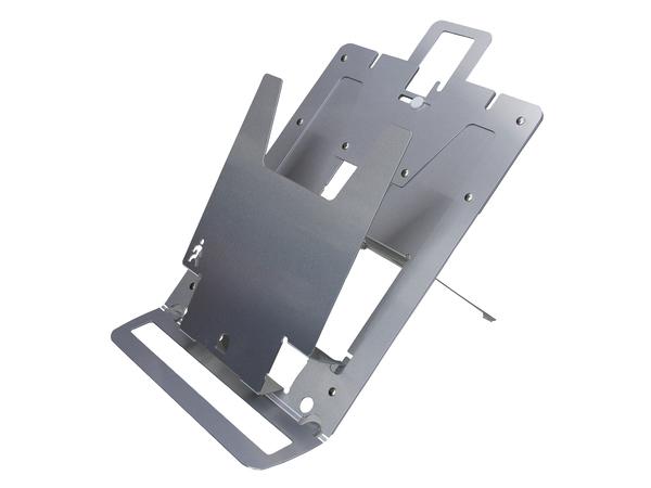 R-Go Tools Echo Laptopständer, Aluminium, Silber, 165 - 230 mm, 32 - 48°