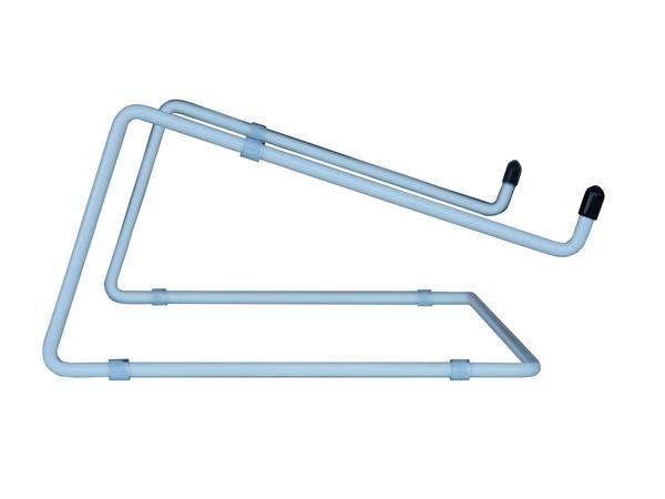 R-Go Tools Steel Office Laptopständer, weiß, Notebook stand, Weiß, 25,4 cm (10 Zoll), 55,9 cm (22 Zoll), Stahl, 5 kg