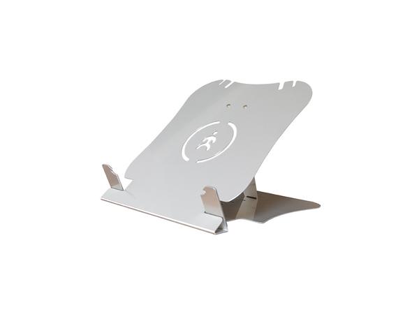 R-Go Tools U Top Laptophalterung, 170 - 220 mm, 32 - 48°, Aluminium, Silber