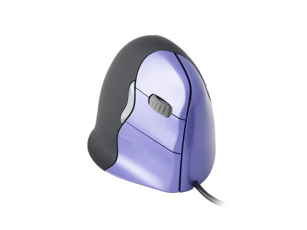 Evoluent VerticalMouse 4 Small - Maus - Laser - 6 Tasten - verkabelt - USB