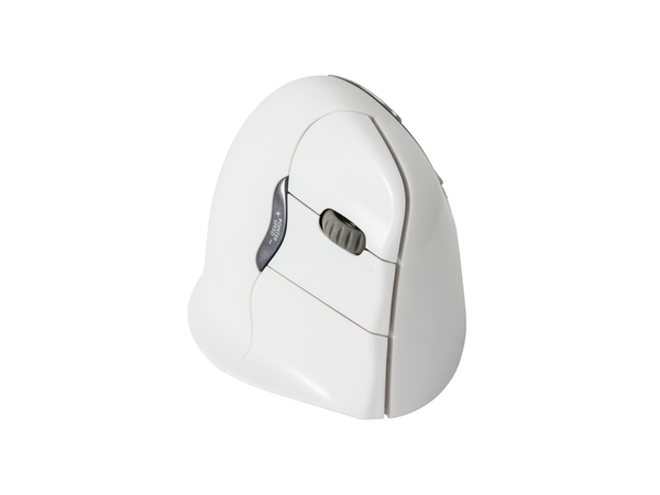Evoluent VerticalMouse 4 Right - Maus - optisch - 6 Tasten - drahtlos - Bluetooth