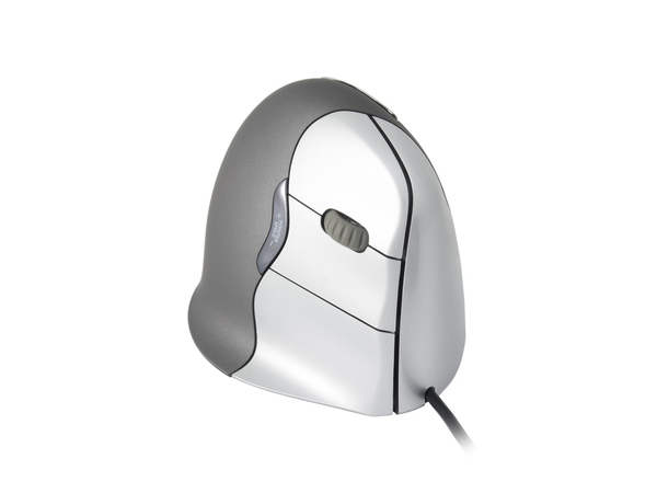 Evoluent VerticalMouse 4 - Maus - Laser - 6 Tasten - verkabelt - USB