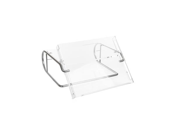 ErgoSteel - Bildschirmständer - durchsichtig