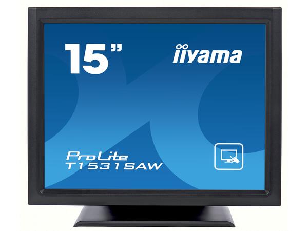 Iiyama ProLite T1531SAW-B3 - LED-Monitor - 38 cm (15