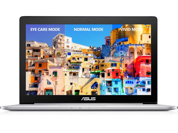 ASUS ZENBOOK Pro UX501VW FY057R - Core i7 6700HQ / 2.6 GHz - Win 10 Pro 64-Bit - 8 GB RAM - 128 GB SSD + 1 TB HDD - 39.6 cm (15.6