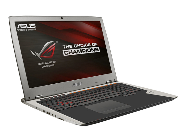 ASUS ROG GX700VO-GC009T - Core i7 6820HK / 2.7 GHz - Win 10 Home 64-Bit - 32 GB RAM - 256 GB SSD NVMe (2x) - 43.9 cm (17.3