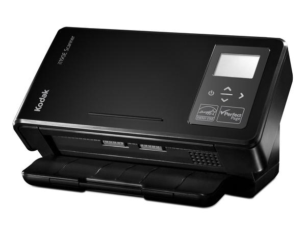 Kodak i1190E - Dokumentenscanner - 215 x 355.6 mm - 600 dpi x 600 dpi - bis zu 40 Seiten/Min. (einfarbig) / bis zu 40 Seiten/Min. (Farbe) - automatischer Dokumenteneinzug (75 Blätter)