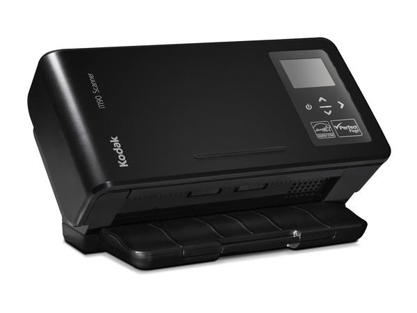 Kodak i1190 - Dokumentenscanner - 215 x 355.6 mm - 600 dpi x 600 dpi - bis zu 40 Seiten/Min. (einfarbig) / bis zu 40 Seiten/Min. (Farbe) - automatischer Dokumenteneinzug (75 Blätter)