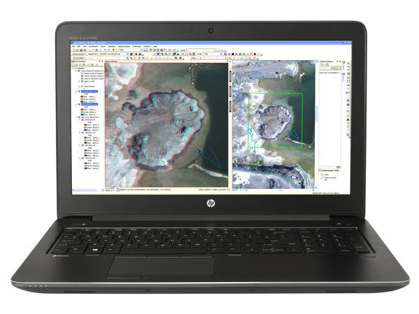 HP ZBook 15 G3 Mobile Workstation - Core i7 6700HQ / 2.6 GHz - Win 7 Pro 64-bit (mit Win 10 Pro 64-bit Lizenz) - 8 GB RAM - 256 GB SSD TCG Opal Encryption 2, Self-Encrypting Drive - 39.6 cm (1
