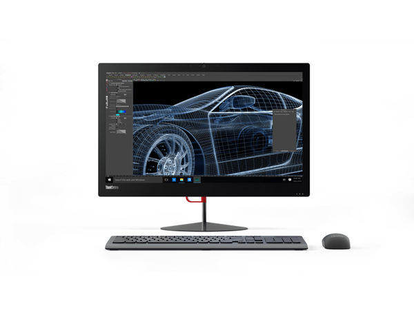 Lenovo ThinkCentre X1 10JX - All-in-One (Komplettlösung) - with Orchid Tilt Stand - 1 x Core i7 6600U / 2.6 GHz - RAM 8 GB - SSD 240 GB