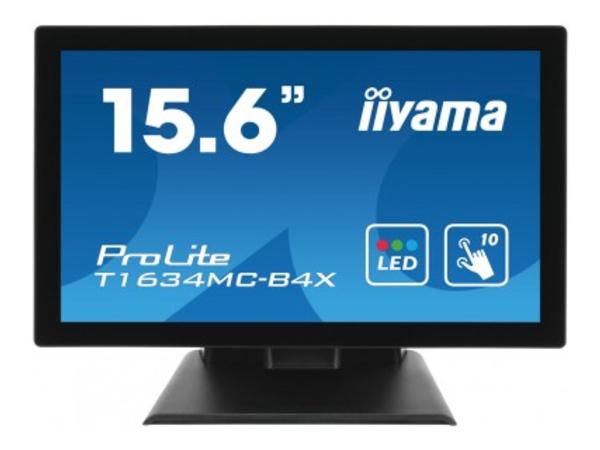 Iiyama ProLite T1634MC-B4X - LED-Monitor - 39.5 cm (15.6