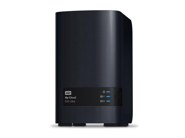 WD My Cloud EX2 Ultra WDBVBZ0160JCH - Gerät für persönlichen Cloudspeicher - 2 Schächte - 16 TB - HDD 8 TB x 2 - RAID 0, 1, JBOD
