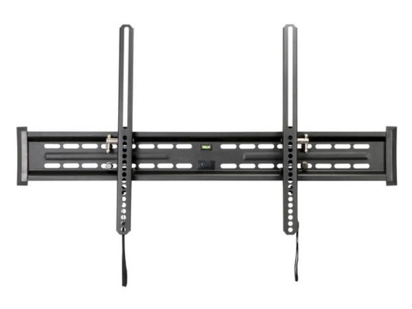 V7 WM3T175-1E - Befestigungskit (Kippbare Wandhalterung) für LCD-Display - Edelstahl - Schwarz - Bildschirmgröße: bis zu 228,6 cm (bis zu 90