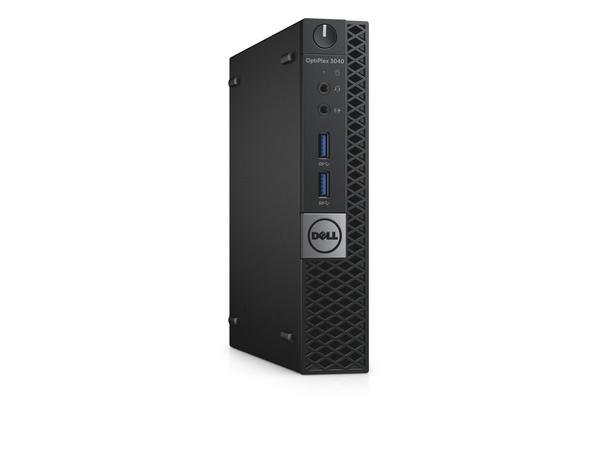Dell OptiPlex 3040 - Micro - 1 x Core i5 6500T / 2.5 GHz - RAM 8 GB - HDD 500 GB - HD Graphics 530 - GigE - WLAN: 802.11a/b/g/n/ac, Bluetooth 4.2 - Win 7 Pro 64-bit (mit Win 10 Pro 64-bit Lize