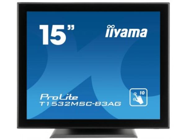 Iiyama ProLite T1532MSC-B3AG - LED-Monitor - 38 cm (15