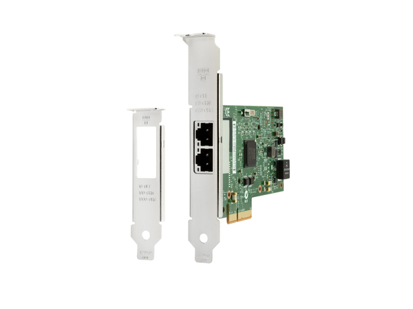 Intel I350-T2 - Netzwerkadapter - PCIe 2.1 x4 Low Profile - Gigabit Ethernet x 2 - für Workstation Z440