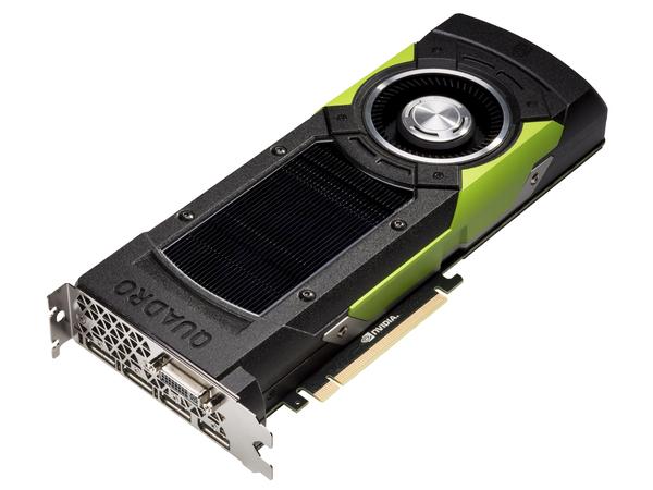 NVIDIA Quadro M6000 - Grafikkarten - Quadro M6000 - 24 GB GDDR5 - PCIe 3.0 x16 - DVI, 4 x DisplayPort