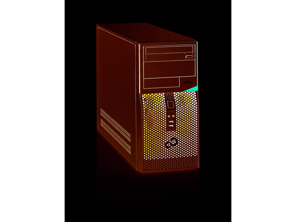 Fujitsu ESPRIMO P556, 3,7 GHz, Intel® CoreTM i3 der sechsten Generation, 8 GB, 256 GB, DVD Super Multi, Windows 7 Professional