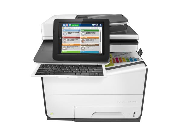 HP PageWide Enterprise Color Flow MFP 586z - Multifunktionsdrucker - Farbe - seitenbreite Palette - 216 x 356 mm (Original) - A4/Legal (Medien)