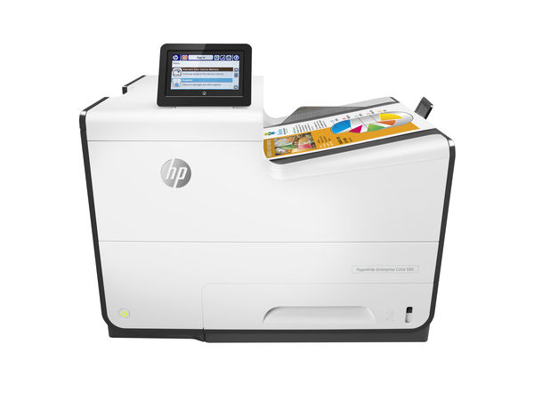 HP PageWide Enterprise Color 556dn - Drucker - Farbe - Duplex - seitenbreite Palette - A4/Legal