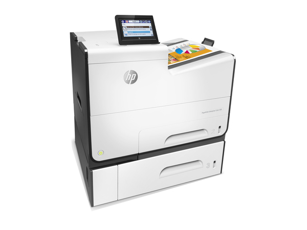 HP PageWide Enterprise Color 556xh - Drucker - Farbe - Duplex - seitenbreite Palette - A4/Legal