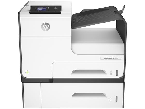 HP PageWide Pro 452dwt - Drucker - Farbe - Duplex - seitenbreite Palette - A4/Legal
