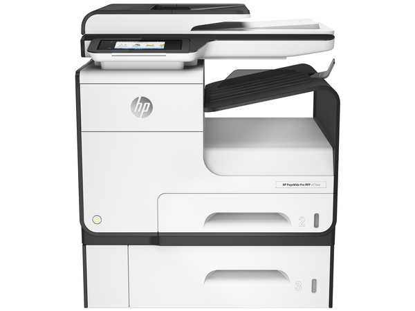 HP PageWide Pro MFP 477dwt - Multifunktionsdrucker - Farbe - Tintenstrahl - Legal (216 x 356 mm) (Original) - A4/Legal (Medien)