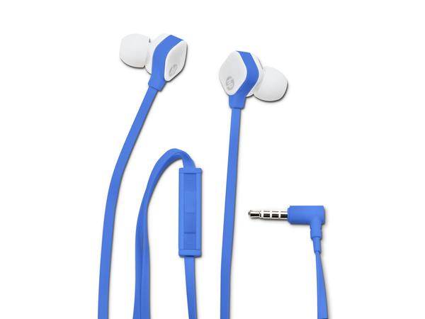 HP H2310 - Ohrhörer mit Mikrofon - im Ohr - Blau