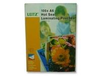 Leitz - 100 - A6 (105 x 148 mm) Taschen für Laminierung