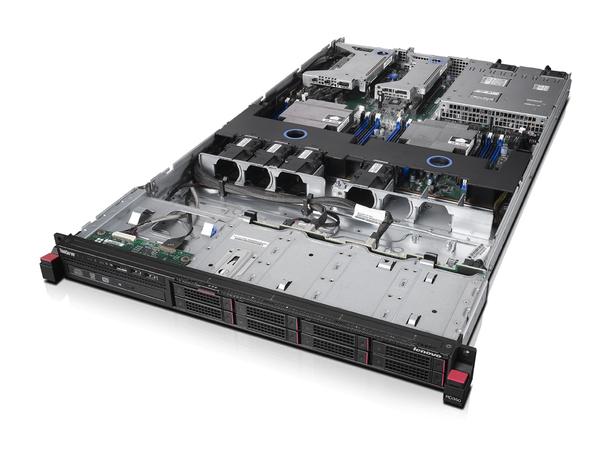 Lenovo ThinkServer RD350 70QM - Server - Rack-Montage - 1U - zweiweg - 1 x Xeon E5-2620V4 / 2.1 GHz