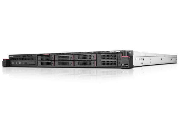 Lenovo ThinkServer RD350 70QK - Server - Rack-Montage - 1U - zweiweg - 1 x Xeon E5-2620V4 / 2.1 GHz
