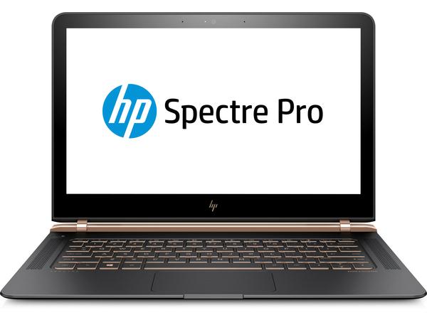 HP Spectre Pro 13 G1 - Core i7 6500U / 2.5 GHz - Win 10 Pro 64-Bit - 8 GB RAM - 512 GB SSD NVMe - 33.8 cm (13.3