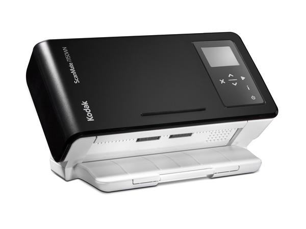 Kodak i1150WN - Dokumentenscanner - 215 x 355.6 mm - 600 dpi x 600 dpi - bis zu 40 Seiten/Min. (einfarbig) / bis zu 40 Seiten/Min. (Farbe) - automatischer Dokumenteneinzug (75 Blätter)