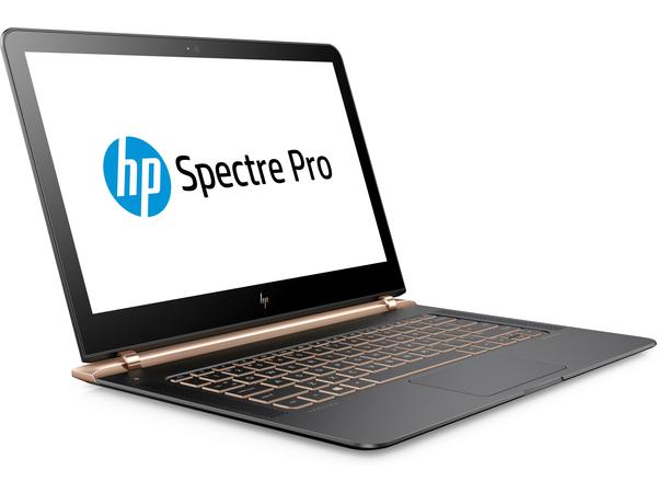 HP Spectre Pro 13 G1 - Core i5 6200U / 2.3 GHz - Win 10 Pro 64-Bit - 8 GB RAM - 256 GB SSD NVMe - 33.8 cm (13.3