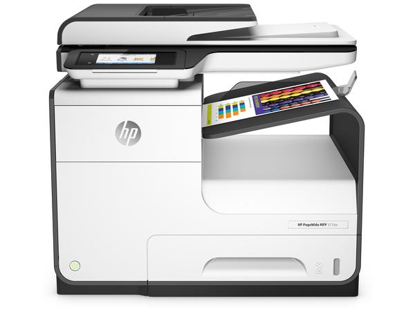 HP PageWide MFP 377dw - Multifunktionsdrucker - Farbe - Tintenstrahl - Legal (216 x 356 mm) (Original) - A4/Legal (Medien)