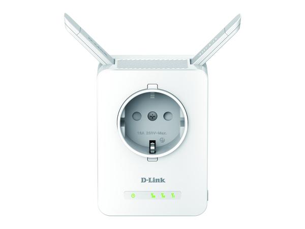 D-Link DAP-1365 N300 Wi-Fi Range Extender with Power Passthrough - Wi-Fi-Range-Extender - 10Mb LAN, 100Mb LAN - 802.11b/g/n - 2.4 GHz