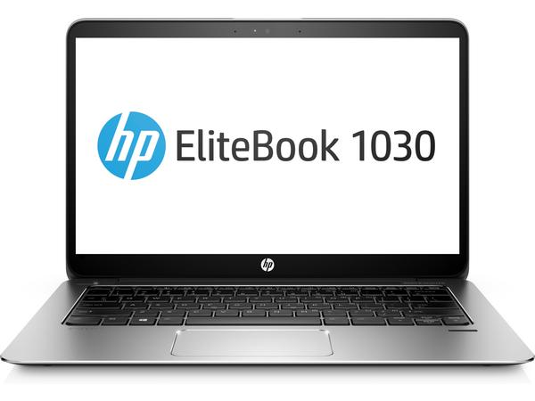 HP EliteBook 1030 G1 - Core m5 6Y57 / 1.1 GHz - Win 10 Pro 64-Bit - 8 GB RAM - 256 GB SSD - 33.8 cm (13.3