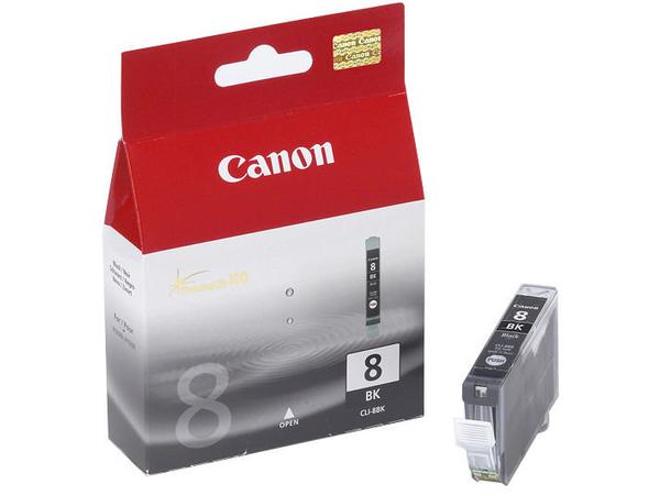 Canon CLI-8Bk - Schwarz - Original - Tintenbehälter - für PIXMA iP4300, iP4500, iP5300, MP520, MP600, MP610, MP810, MP960, MP970, MX850, Pro9000