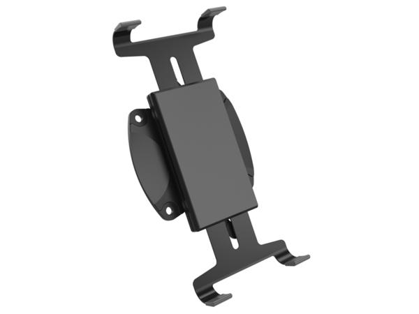 V7 VESATAB-1E VESA Mount Tablet Holder - Montagekomponente ( anpassbare Halterung ) für Tablett - Kunststoff - Schwarz - Montageschnittstelle: 100 x 100 mm