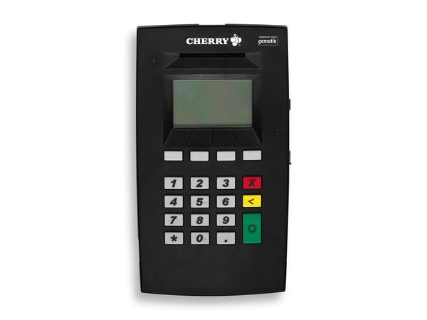 CHERRY eHealth Terminal ST-1503 - SmartCard Lese-/Schreibgerät - USB, Ethernet - Schwarz
