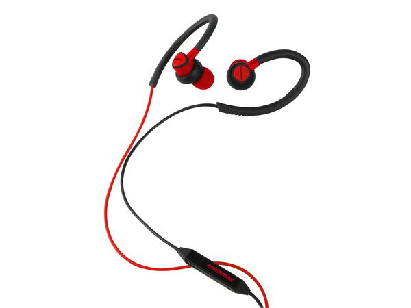 Enermax EAE01 - Ohrhörer mit Mikrofon - im Ohr - über dem Ohr angebracht - 3,5 mm Stecker - Geräuschisolierung